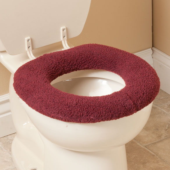 Sherpa Toilet Seat Cover by OakRidge Comforts™