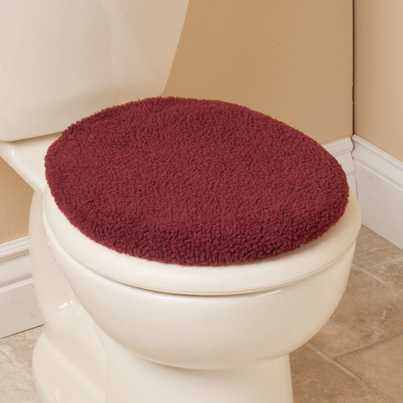 Sherpa Toilet Seat Lid  Cover by OakRidge Comforts™