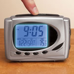New - 4-In-1 Easy Read Alarm Clock