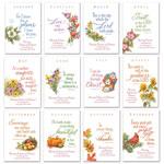 Holidays & Gifts - Seasonal Prayer Books, Set Of 12