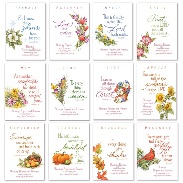 Seasonal Prayer Books, Set Of 12