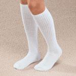 Footwear & Hosiery - Graduated Compression Diabetic Calf Sock