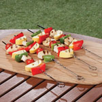 New - Chrome Skewers Set of 4