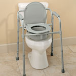 Mobility, Braces & Footcare - Folding Commode                              XL