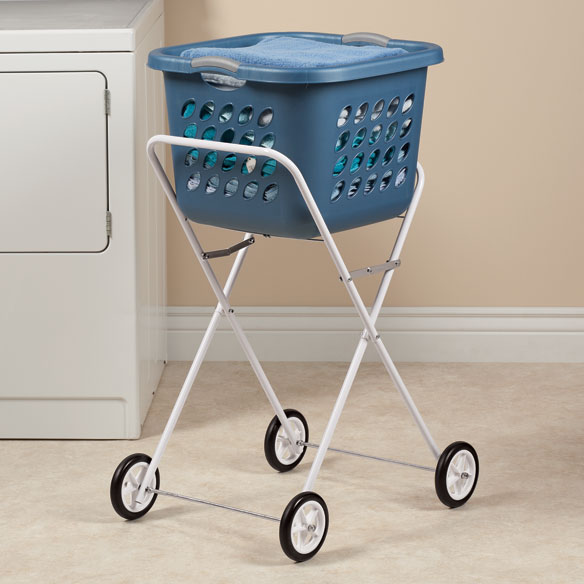 Lightweight Folding Laundry Cart