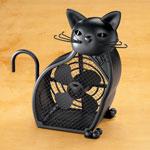 Decorations & Accents - Black Cat Fan