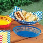 Outdoor Entertaining - Burger Baskets - Set of 6