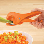 Gadgets & Utensils - Easy Grip Stalk Slicer