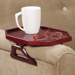 Storage & Organizers - Wooden Armchair Tray