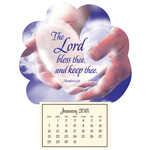 "Calendars - Mini ""In God's Hands"" Magnetic Calendar"