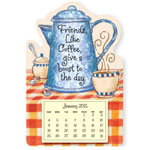 Calendars - Mini Coffee Friendship Magnetic Calendar