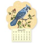 Calendars - Mini Magnetic Calendar Bluejay
