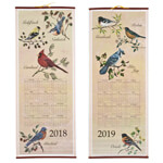 Calendars - Songbirds Scroll Calendar