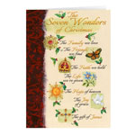Christmas Cards - The Seven Wonders of Christmas Card Set of 20