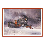 Secular - Blaylock Train Christmas Card Set of 20