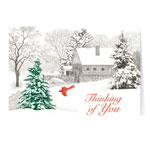 Secular - Winter Mill Christmas Card Set of 20