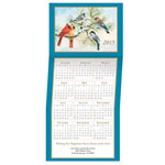Christmas Cards - Songbird Calendar Christmas Card Set of 20