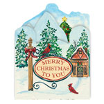Secular - Your Town Square Christmas Card Set of 20