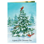 Religious - Legend of the Christmas Tree Christmas Card Set of 20