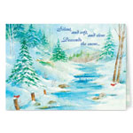 Secular - Silent Snowfall Christmas Card Set of 20