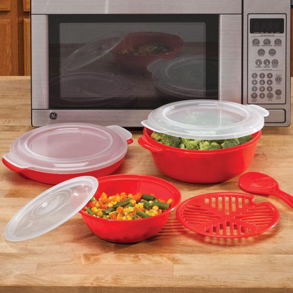Microwave Cookware Set - Microwave Safe Cookware - Walter Drake