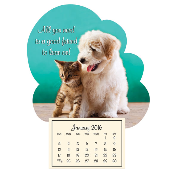 Mini Good Friends Magnetic Calendar