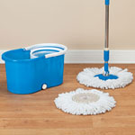 Similar to TV Products - Clean Spin 360° Microfiber Mop and Bucket Set