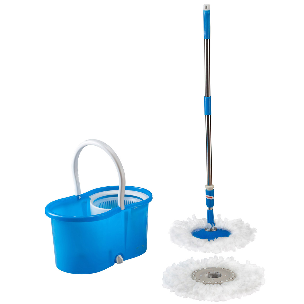 Clean Spin 360° Microfiber Mop and Bucket Set-349016