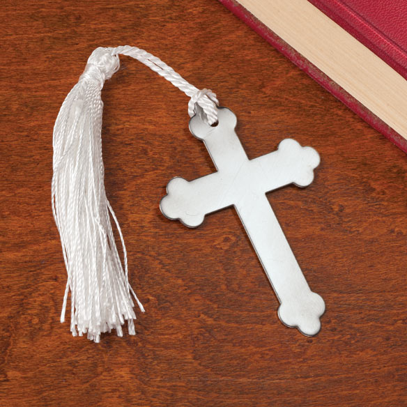 Metal Cross Bookmarks, Set of 10