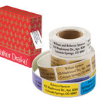 Buy 2 and Save! - Personalized Large Print Roll Labels, Set of 200