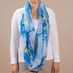 Health, Beauty & Apparel - Watercolor Infinity Scarf