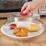 Small Appliances & Accessories - Glass Microwave Plate Cover