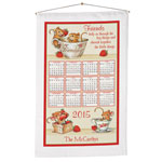 Calendars - Personalized Friendship Mice Calendar Towel