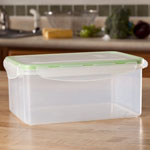 Food Storage - Locking Lid Storage Container, 7 Cup
