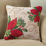 Decorations & Storage - Poinsettia Pillow Cover