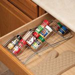 Organization & Decor - In-Drawer Spice Rack