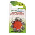 Buyers' Picks - Fuji EnviroMax A13 Hearing Aid Batteries - 8-Pack