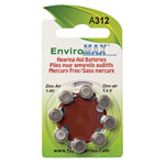 Buyers' Picks - Fuji EnviroMax A312 Hearing Aid Batteries - 8-Pack