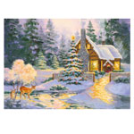 Hobbies - Glowing Cottage Jigsaw Puzzle