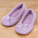 Footwear & Hosiery - Chenille Ballet Slippers