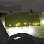 Clear View Night Driving Visor
