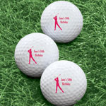 Golf Balls - Personalized Women's Golf Balls - Set of 6