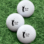 Hobbies - Personalized Men's Golf Balls - Set of 6