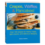 Books & Videos - Crepes, Waffles & Pancakes! Cookbook