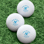 Golf Balls - Personalized Pacifier Golf Balls - Set of 6