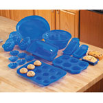 View All Clearance - 23 Pc. Silicone Bakeware Set