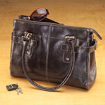 Closeout Deals - Giovanni Luigi Milano Genuine Leather Handbag