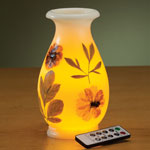 Home - Remote Control Flameless LED Candle Vase