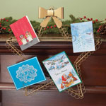 Decorations & Storage - Star Christmas Card Holder
