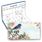 Calendars - Personalized 2 Year Planner Bluebird